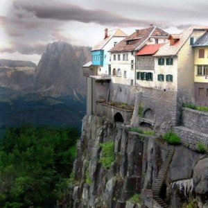 Cliff-side Dwellings of Ronda ~ Spain